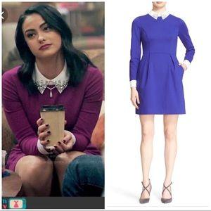 "Ted Baker blue ""Moona"" dress 1 (US 4)"